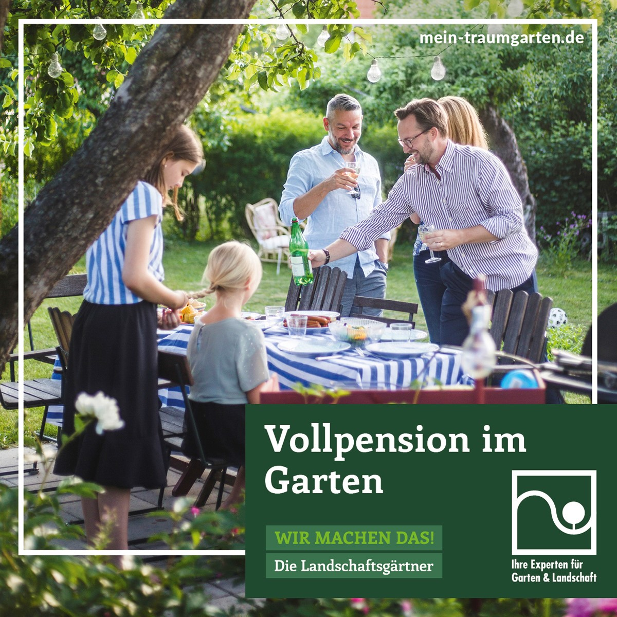 Motive Facebook_Vollpension im Garten